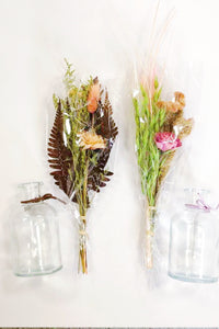 Glass Jar Bouquet