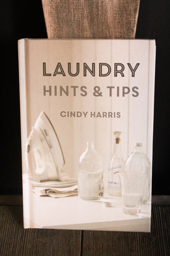 Laundry Hints & Tips Book