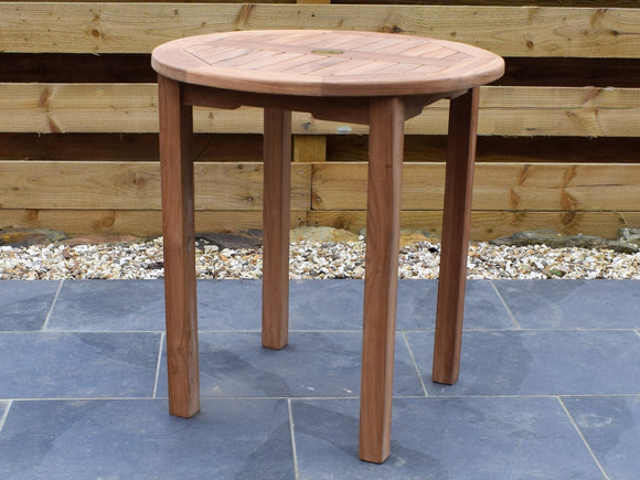 Teak 70cm Round Bistro Table