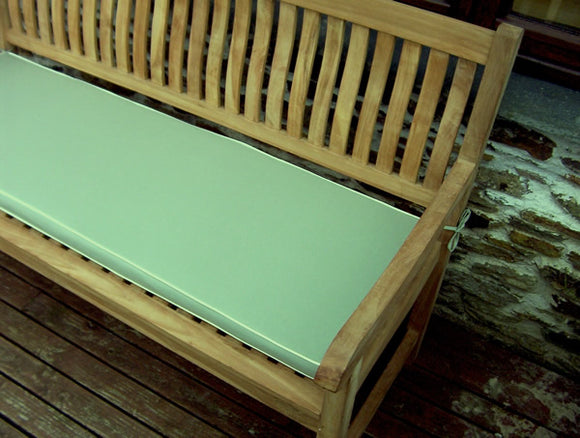 Luxury 4 Seater Bench Cushion Light Olive