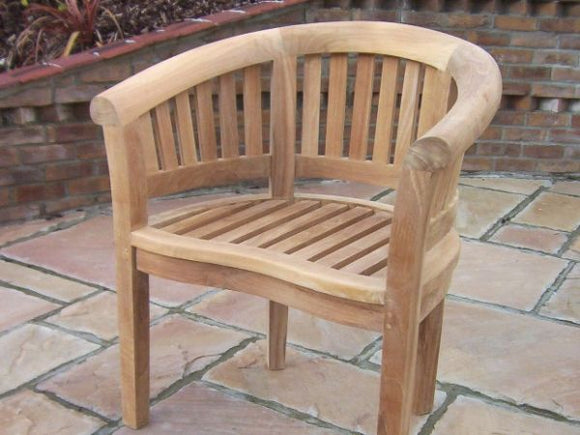 Teak Banana Chair
