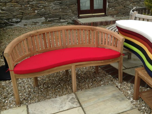 Banana Bench Cushion Red