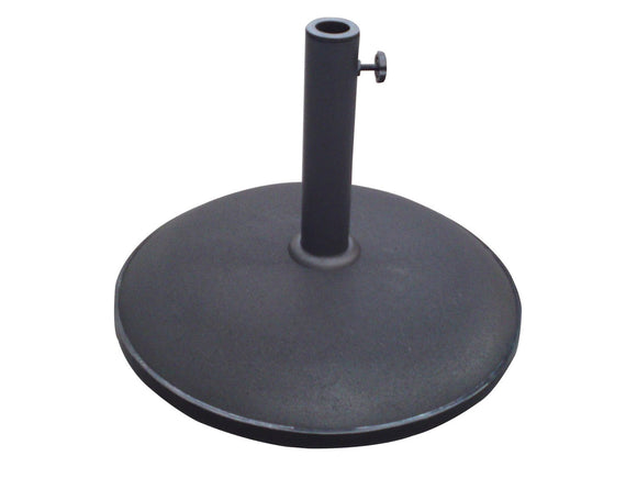 25kg Parasol Base - Black