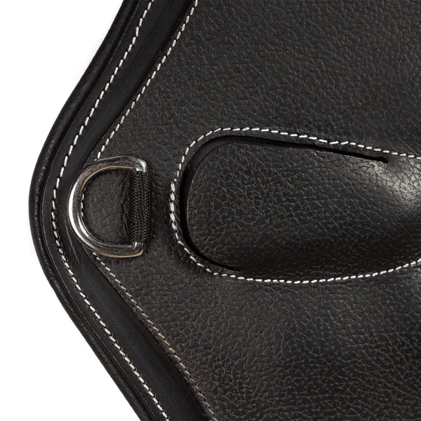 AR ANATOMICAL GEL PADDED GRAIN OVERLAY - BLACK STUD GUARD - Flexible Fit Equestrian Australia