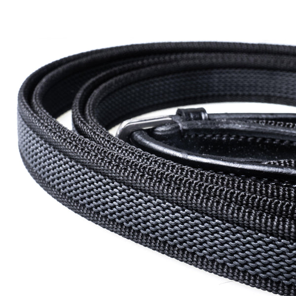 SURE GRIP BLACK REINS - Flexible Fit Equestrian Australia
