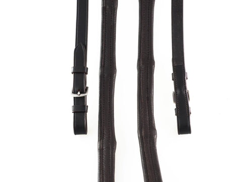 PADDED LEATHER 6/8 BUCKLE 6/8 HAVANA REINS