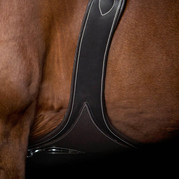 AR ANATOMICAL GEL PADDED GRAIN OVERLAY - HAVANA STUD GUARD - Flexible Fit Equestrian Australia