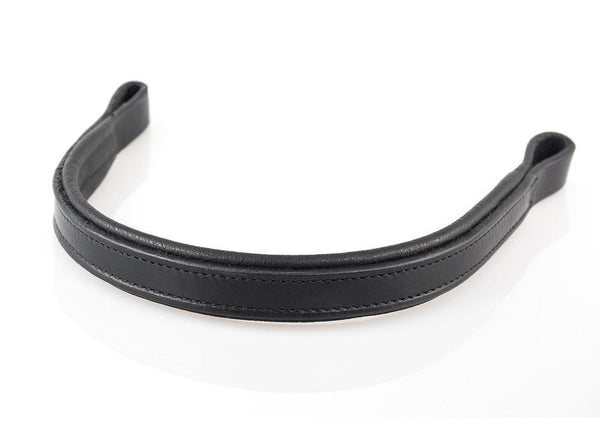 PLAIN FLAT STRAIGHT- BLACK BROWBAND