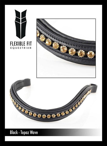 TOPAZ WAVE MID THIN WAVE - BLACK BROWBAND