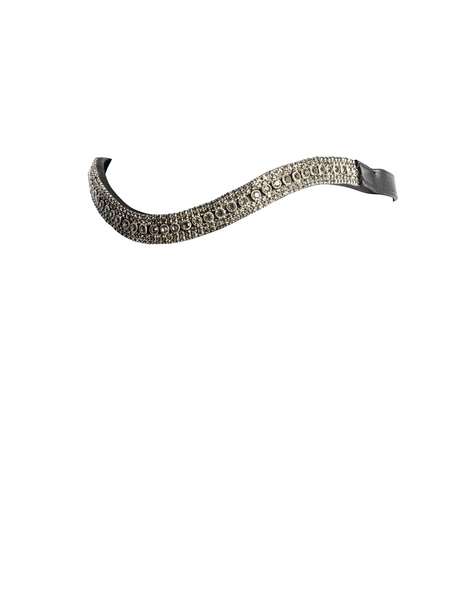 GREY CRYSTAL PRINCESS WAVE - BLACK BROWBAND