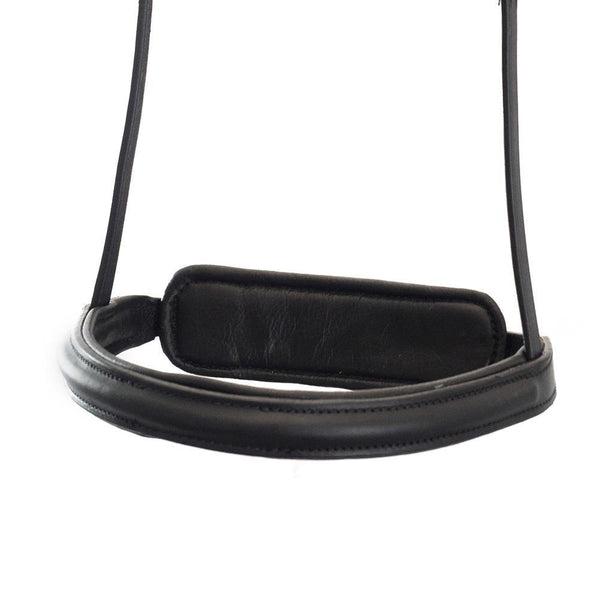 STRAIGHT RAISED PLAIN CONVERTER EVENTER - BLACK NOSEBAND