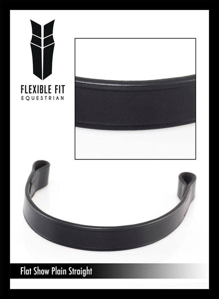 SHOW FLAT PLAIN  - BLACK BROWBAND