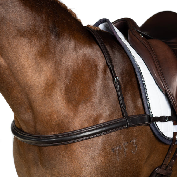 DRESSAGE HAVANA STRAIGHT BREASTPLATE