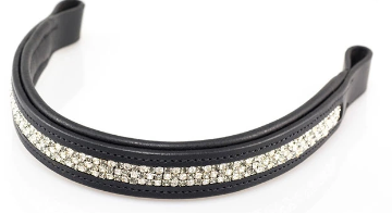 GREY/CLEAR STRAIGHT - BLACK BROWBAND