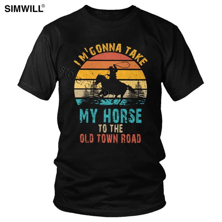 I'm Gonna Take My Horse To The Old Town Road
