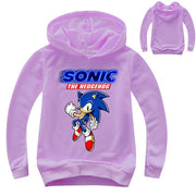 Fashion Sonic The Hedgehog Hoodies Kids 3D Hoodie