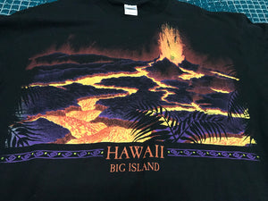Hawaii volcano double sided XL