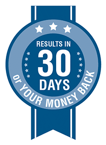 Results in 30 days or your money back