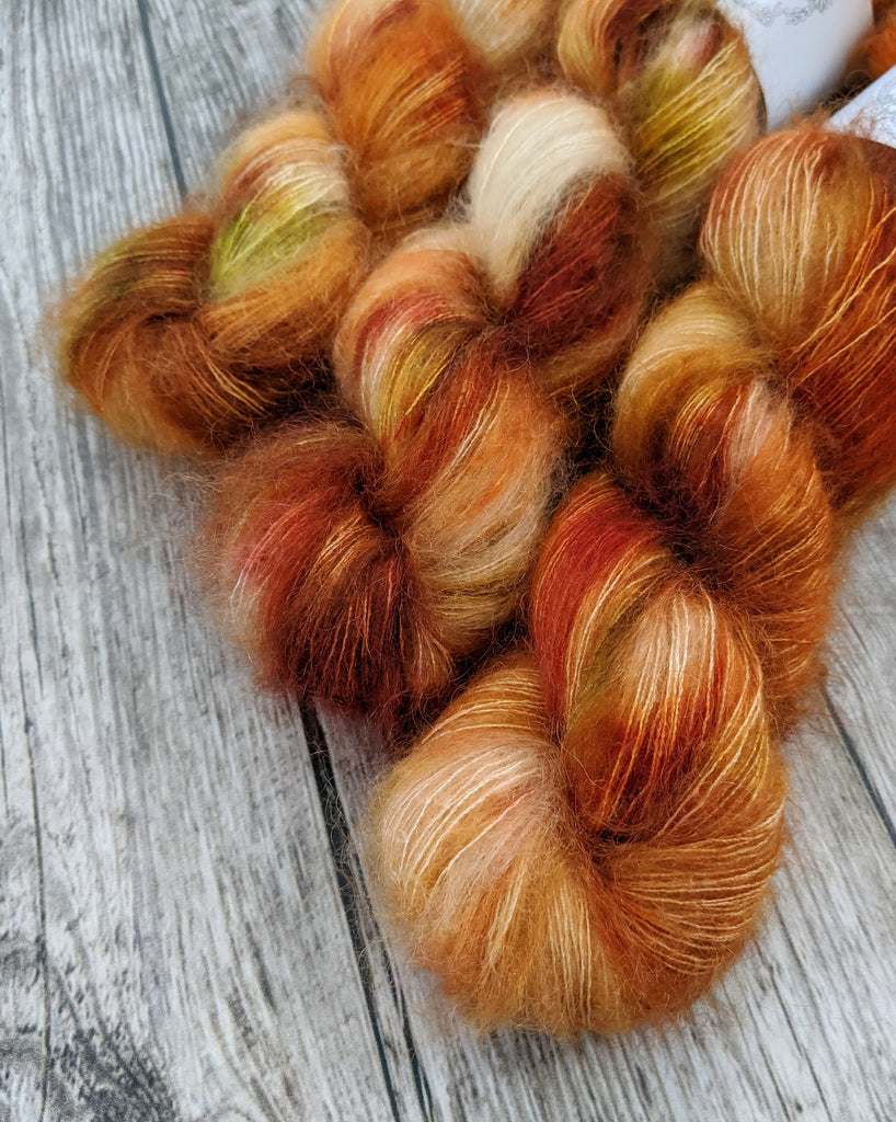 MUST HAVE MOHAIR, Pumpkin Spice