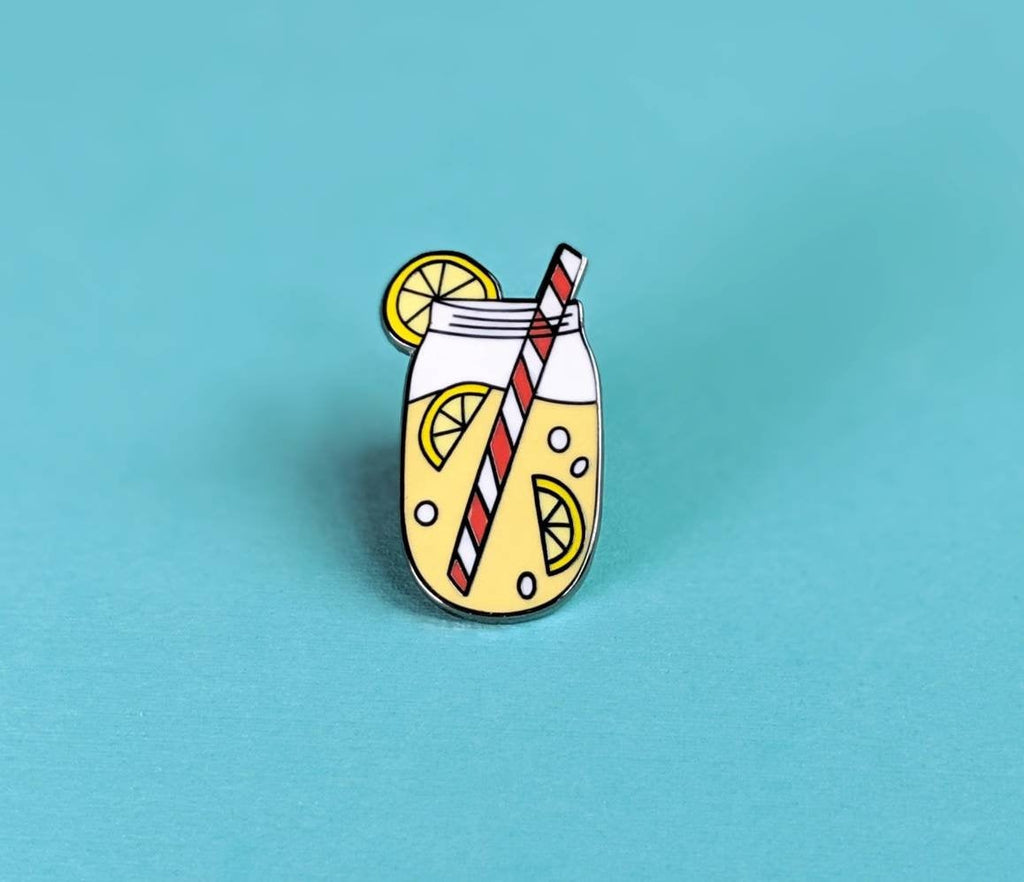 ENAMEL PIN, Old Fashioned Lemonade