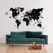 Load image into Gallery viewer, 1 x ELECTROSTATIC WORLD MAP - Funstatic - The Electrostatic World Map