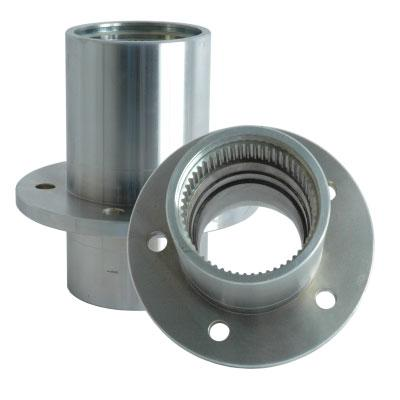 Solid Axle Forged Steel Wheel Hubs for Dana 60 5 Lug Wheel Pattern