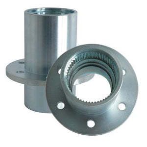 Solid Axle Forged Steel Wheel Hubs for Dana 60 6 Lug Wheel Pattern