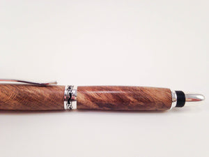 Pen (Blue Spalted Japanese Maple) 0038 - No One Alike