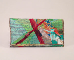 Small Clutch 003 (fold over) - No One Alike