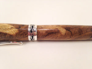 Pen (Black Line Spalted Sycamore) 0035 - No One Alike