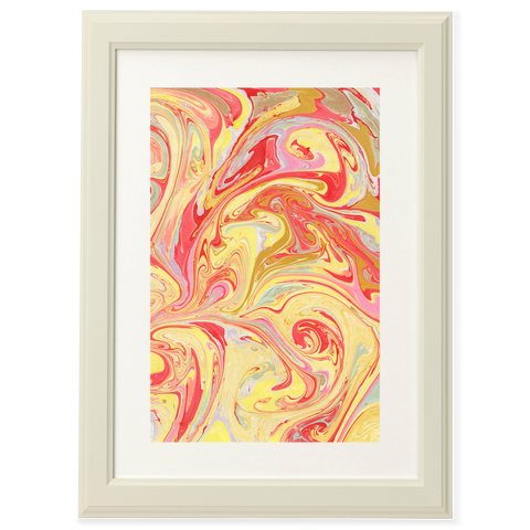 Marbled Paintings