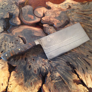Stainless Damascus Butcher Knife - No One Alike