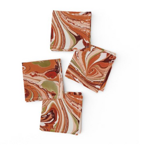 Gorgeous Gourd Cocktail Napkins MADE TO ORDER