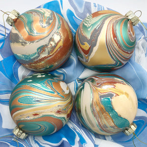 Bohemian Vacation Ornament Set - No One Alike
