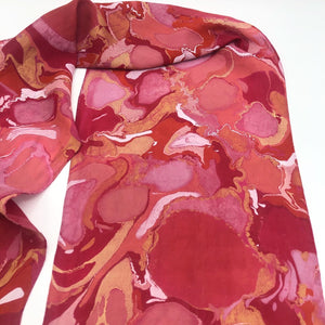 Rosy Cheeked Small Scarf - No One Alike