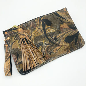 Burnt Umber Wristlet - No One Alike
