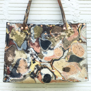 Jackie O Animal Print Tote - No One Alike