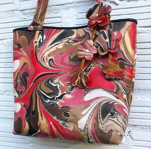 Lady in Red Small Tote - No One Alike