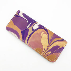 Violet Feather Wallet