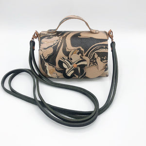 Granite Contrast Mini Satchel - No One Alike