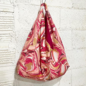 Cranberry Blush Hobo Bag