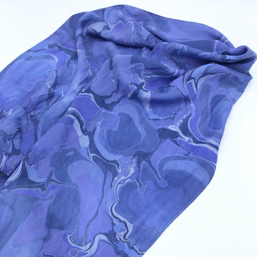 Periwinkle Dream Medium Scarf - No One Alike