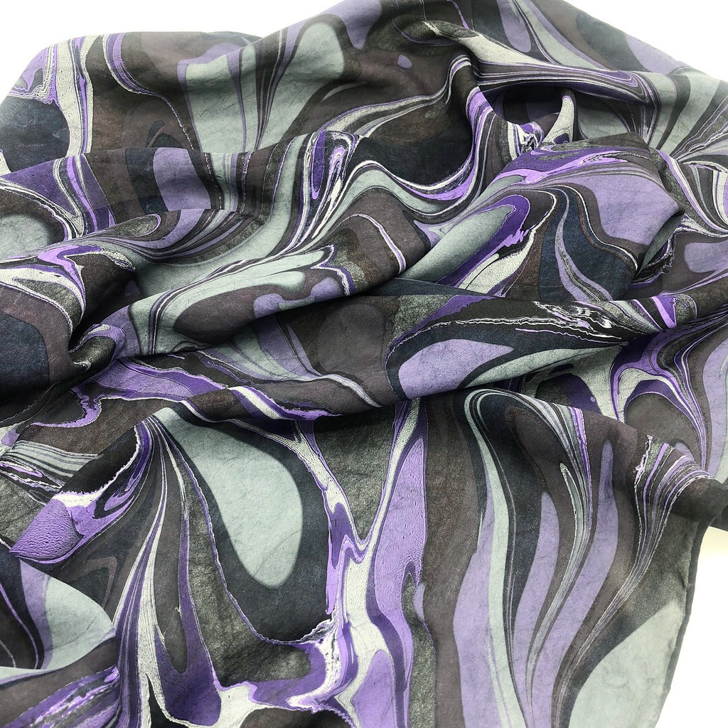 Purple Haze Medium Scarf - No One Alike