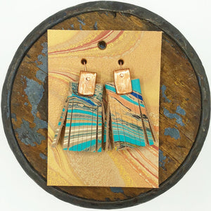 Big Sky Tassel Earrings - No One Alike