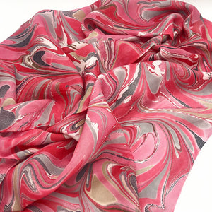 Misty Rose Large Silk Wrap - No One Alike