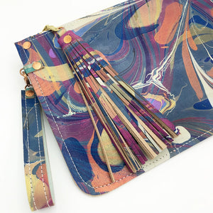 Fuscia Day Wristlet - No One Alike
