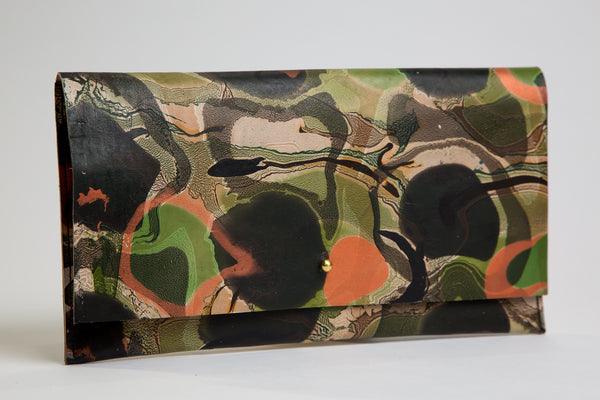 Copper and Ivy Clutch