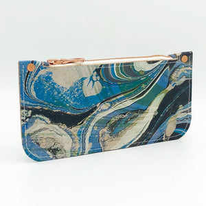 Slate Zipper Pouch - No One Alike