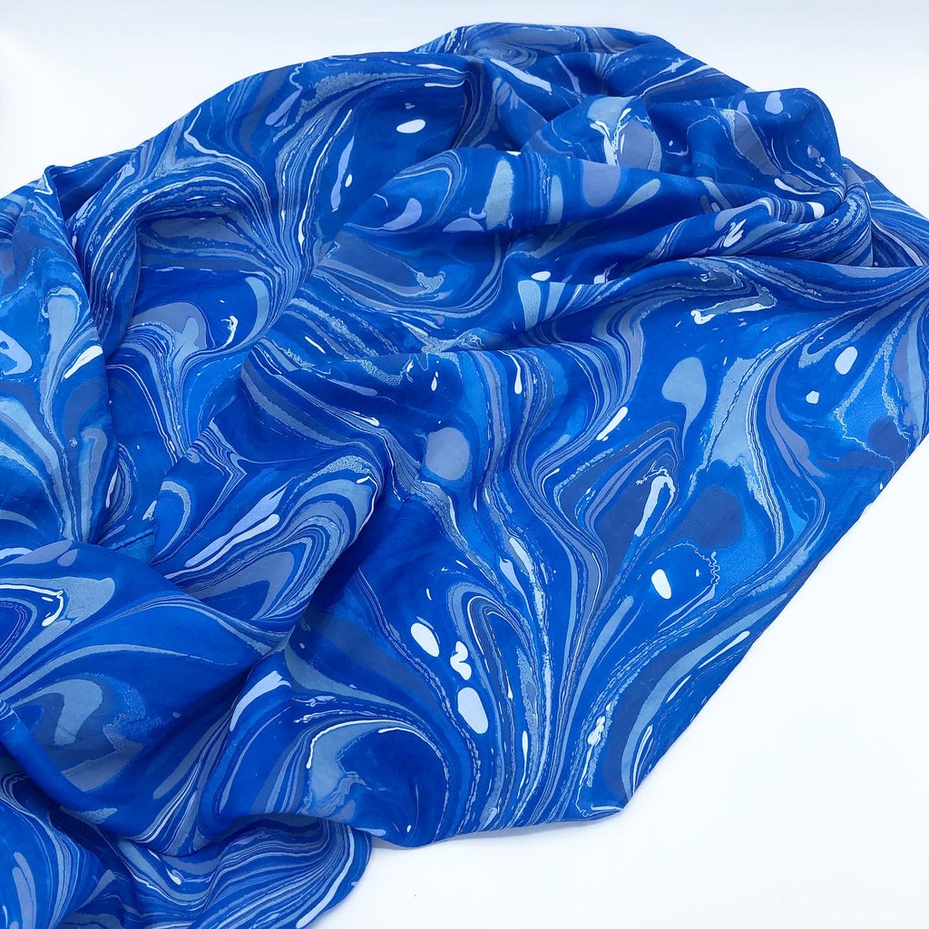 Chrysanthemum Large Silk Wrap - No One Alike
