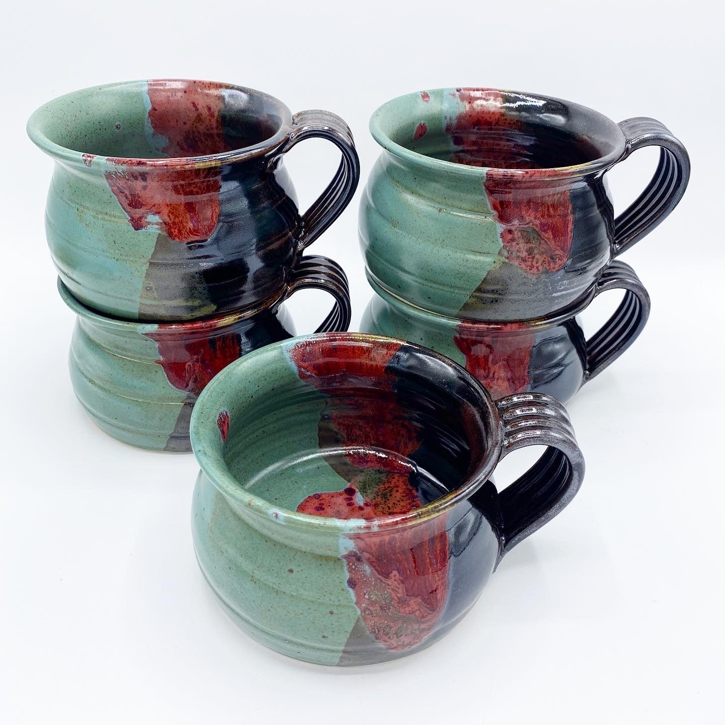 Mountain Sunset Soup Mug - No One Alike